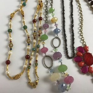 Jewelry - 6 Necklaces. 1 Price for all.
